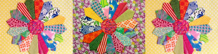 Dresden Plate Quilt Pattern Simple Dresden Plate Quilt HowTo Free Templates The Quilting Company