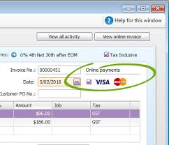 Enter An Invoice, Quote Or Order - Myob Accountright - Myob Help Centre
