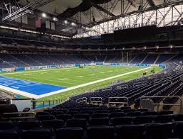 Ford Field Seating Chart View Ford Field Section 100 Seat Views Seatgeek