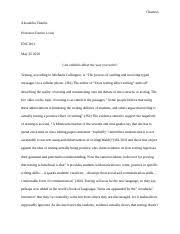 does texting affect writing theresa english composition sima 3 pages does texting affect writing final draft revised