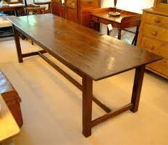 elegant 8 foot desk for home design large long wood dining table 2