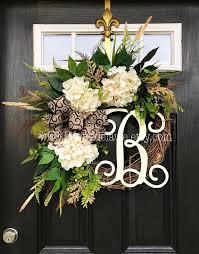 initial wreaths for front door132 best Wreaths images on Pinterest  Front door wreaths