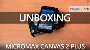 Micromax A110Q Canvas 2 Plus Unboxing ...