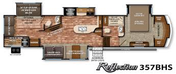 Grand Design Reflection Floorplans Reflection Fifth Wheel Specifications Grand Design Rv