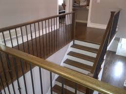 red oak select long length extra grade ramdom bundle hardwood flooring and stairs dark stained coffee steps t1 steps