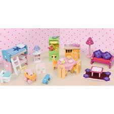 doll house furniture sets. Le Toy Van Deluxe Starter Furniture Set For Doll Houses House Sets E