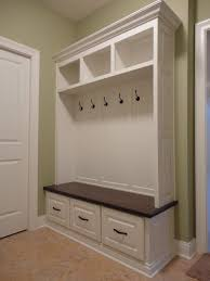 Bench With Storage And Coat Rack THE VIRGINIA Mudroom Lockers Bench Storage Furniture Cubbies Hall 41
