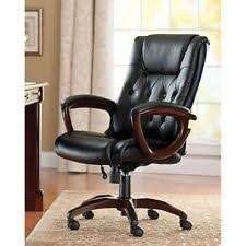heavy duty executive leather chair. heavy duty leather office rolling computer chair brown high back executive desk y