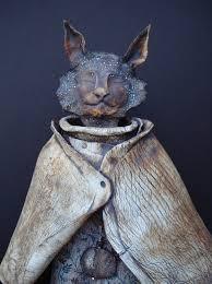 Avis Gardner | Ceramic monsters, Animal sculptures, Sculpture art