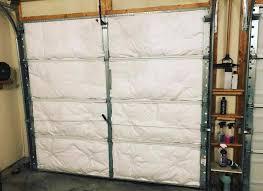 types of garage door insulation