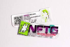 tie dye business cards custom die cut business cards plastic printers inc