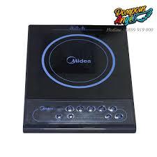 Chính hãng] Bếp điện từ đơn , bếp điện đa năng , bếp từ đơn , bếp điện cơ  mini MIDEA MI-B2016DA chịu nhiệt cao cấp