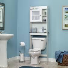 blue bathroom accessories white ceramic bath tub with high arc white round shaped ceramic sink brown