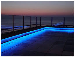 led outdoor patio strip light examples