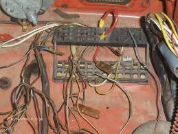 need 1974 standard fuse panel wiring help shoptalkforums com image