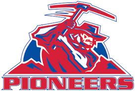 pioneers logo football. cripple creek-victor pioneers logo football i