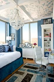 traditional blue bedroom ideas. + ENLARGE. Feminine Blue Bedroom Traditional Ideas
