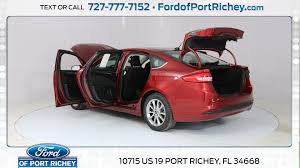 New  Ford Fusion SE For Sale In Port Richey FL Near Spring - Ford fusion exterior colors