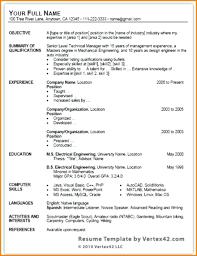 Microsoft Resume Templates 2013 template Microsoft Office Resume Template 100 16