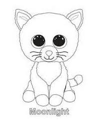 Ty Beanie Boos Coloring Pages Sketch Template Kleurplaat Måla