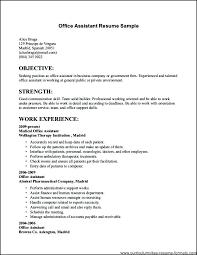 Job Resumes Resume For Job Job Application Resume For Administrative Assistant 48