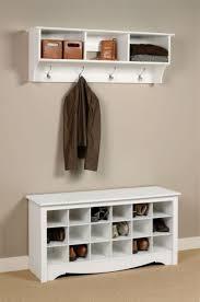 prepac ashley shoe storage bench white. Prepac Shoe Storage Cubbie Bench In White Ashley T