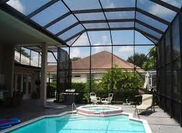 swimming pool screen enclosures in and near naples fl swimming pool screen enclosure s57