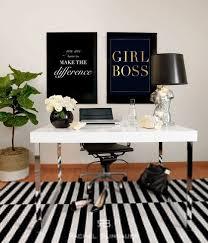 gold foil print girl boss art print stampa tipografica idea regalo per lei stampa in oro boss workspace home office