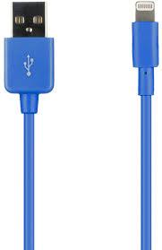 Купить <b>Prolife USB-Lightning 8pin синий</b> кабель (провод) в Москве ...