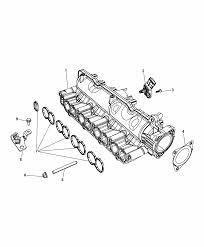 2014 dodge journey intake manifold diagram i2301377