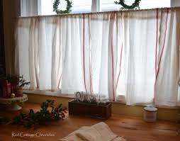 Ikea Dishtowel Hack. Cafe Curtains KitchenKitchen ...