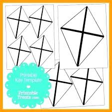 Free Printable Kite Template Kite Pattern Template Large Printable Free 9 Diamond Bow Best Kites