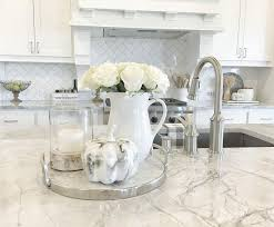 dishy kitchen counter decorating ideas: fall kitchen countertop decor fall kitchen countertop decor neutral fall