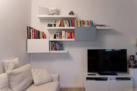 Ikea Lack Shelf Hack Stylish Lack And Besta Bookshelf Ikea Hackers Ikea Hackers