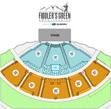 Seating Chart Fiddlers Green Amphitheatre