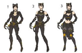 Steampunk Catwoman designs by Oriana132 ...