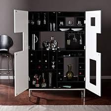 wine bar cabinet. Interesting Wine Southern Enterprises Shadowbox WineBar Cabinet Black Throughout Wine Bar Cabinet Z