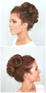 Different Bun Hairstyles Best 20 Elegant Bun Ideas On Pinterest Bun Updo Elegant Updo