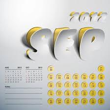 creative calendar. Simple Creative 2012 Art Calendar Creative Vector On Creative Calendar A