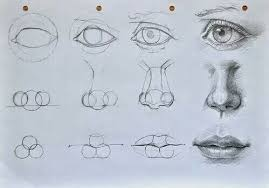 drawing nose and art image