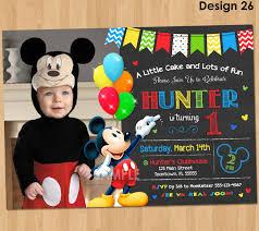 mickey mouse photo invitations hollowwoodmusic com mickey mouse photo invitations out reducing the catchy essence of invitation templates printable on your invitatios card 20