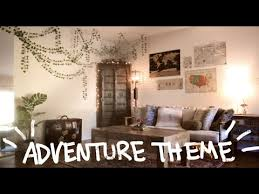 explorer jungle themed living room