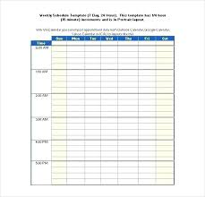 Hour 7 Day Rotating Roster A Week Template Staff New Monthly