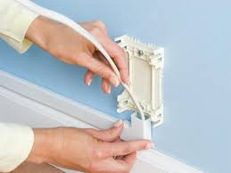 How To Cover Wires How To Hide Wiring Behind Baseboard Or Install A Raceway How Tos