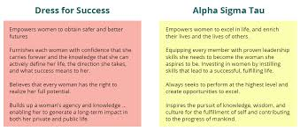dress for success alpha sigma tau screenshot 117