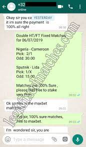 100 fixed match blog free