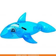 """<b>Надувная игрушка</b> для катания верхом """"Дельфин"""", <b>BESTWAY</b> ..."""