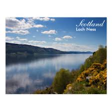 scotland loch ness postcard