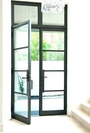 glass front doors frosted glass exterior door modern glass exterior front doors