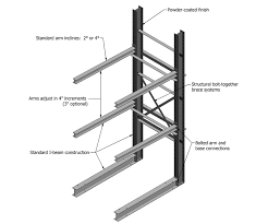 salvage cantilever rack diagram